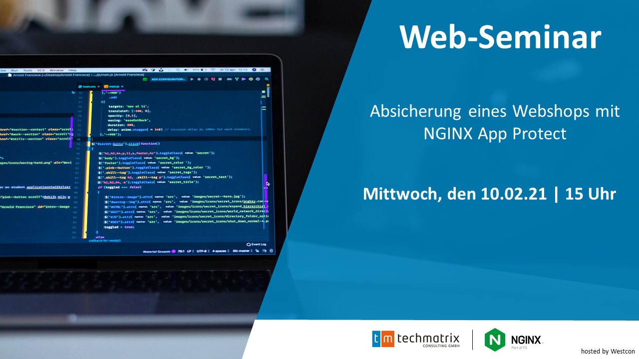 Read more about the article Absicherung eines Webshops mit NGINX App Protect