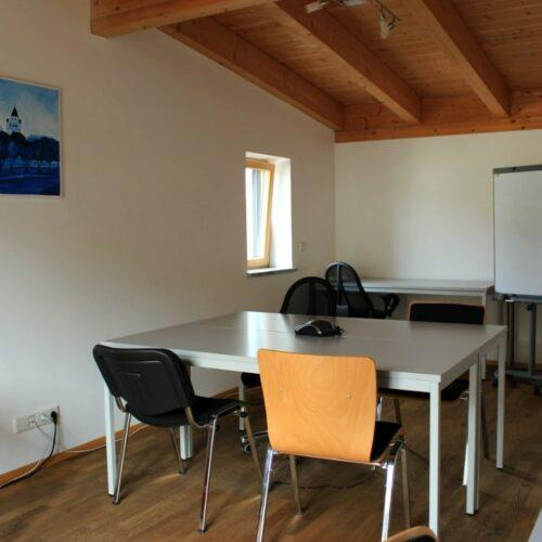 Das Bild zeigt einen Ausschnitt des zweiten Büros am Standort in Ingolstadt.