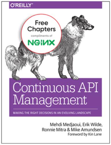 """NGINX E-Book zum Thema """"Kontinuierliche API-Verwaltung""""."""