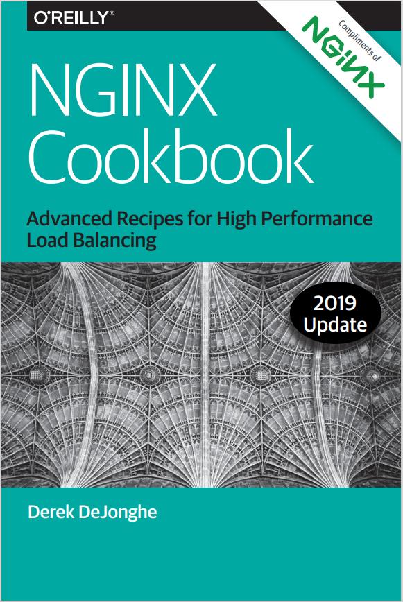 """NGINX E-Book zum Thema """"Erweiterte Rezepte für Hochleistungs-Lastausgleich""""."""