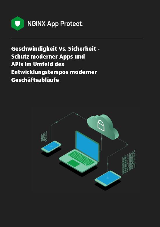 NGINX Whitepaper über das Thema Geschwindigkeit Vs. Sicherheit