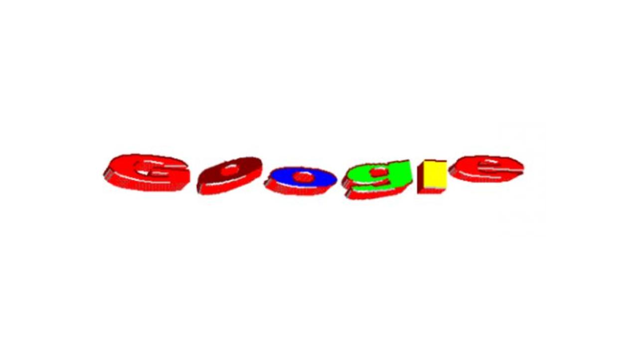 3D war damals ein riesen Trend, was sich auch die Designer des ersten, vorläufigen Google Logos beim Entwurf gedacht haben müssen, denn mit diesem Logo ist die wohl bekannteste Suchmaschine der Welt an den Start gegangen. Über die Jahre hinweg hat das Google Logo allerdings oft verändert. Mal mehr, mal weniger drastisch.
